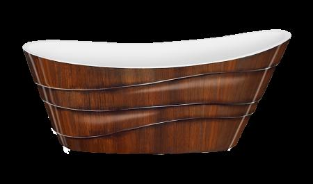 Ванна Alya Lagard. Цвет: Brown Wood