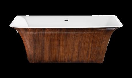 Ванна Lagard Evora. Цвет: Brown Wood