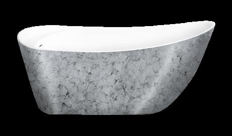 Ванна Lagard Minoti. Цвет: Treasure Silver